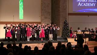 "Mars Hill Academy Christmas Concert: Grade 2, ""The Friendly Beasts"""