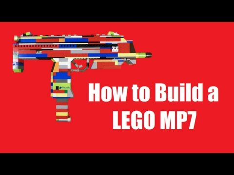 How To Build A Lego Mp7
