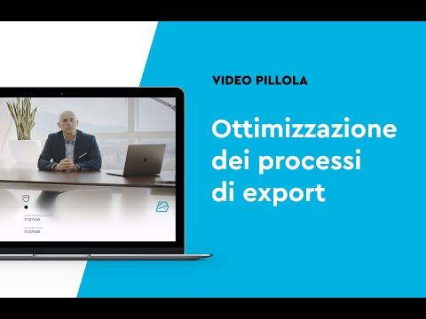 Ottimizzazione dei processi di export