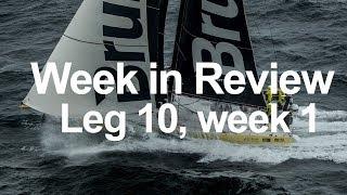 Week in Review - Leg 10, week 1 | Volvo Ocean Race