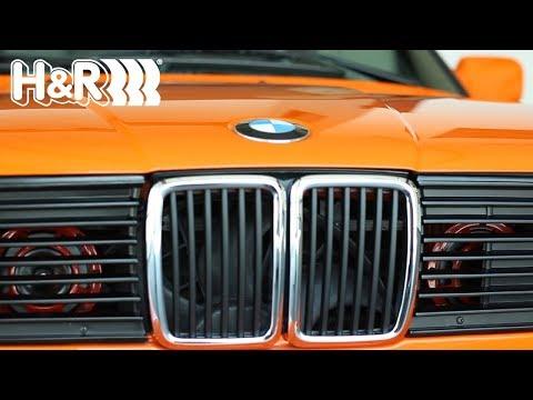 H&R BMW  E30 318is Project Details (Part 1)