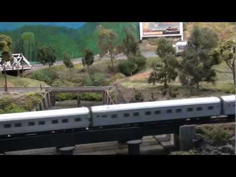 Model Railway Videos 2012 – AMRA Passenger Trains