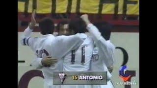 Atlético de Madrid 1- Albacete 1. Copa del Rey 94/95. Ida 1/4 de final