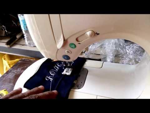 juki allowne embroidery sewing machine