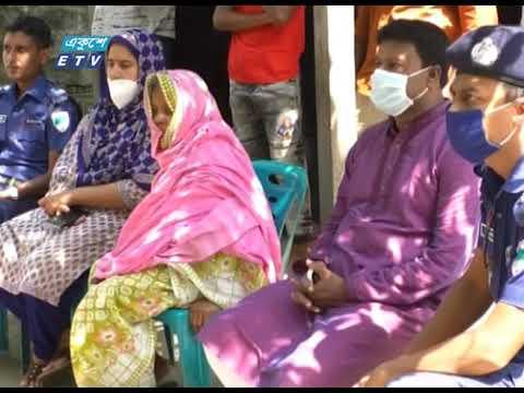 বৃদ্ধা আমিরুন নেছাকে নতুন ঘর উপহার দিয়েছেন পুলিশ সুপার দম্পতি