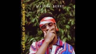 Maleek Berry   Lost In The World (Audio)