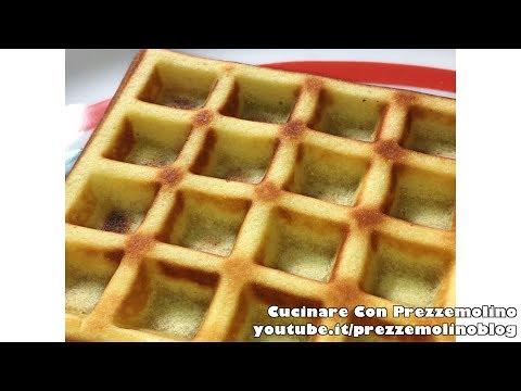 Ricetta Waffles Bimby TM5 con piastra LIDL - Vera ricetta originale #FATTOINCASADAPREZZEMOLINOBLOG