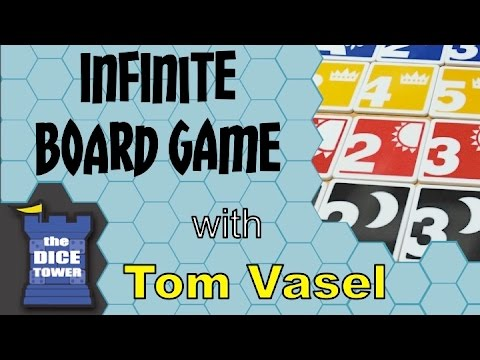 Dice Tower Reviews: The Infinite Board Game