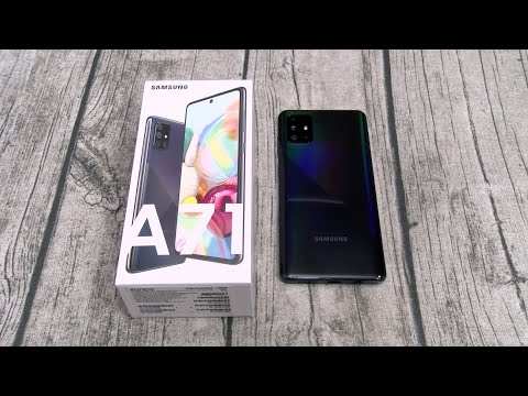 External Review Video zTvHAaXEgaQ for Samsung Galaxy A71 5G Smartphone