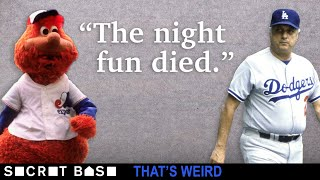 A legendary mascot got ejected because a crotchety Tommy Lasorda hated fun | That's Weird thumbnail