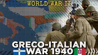 Battle of Greece 1940: Mussolini Attacks – World War II DOCUMENTARY