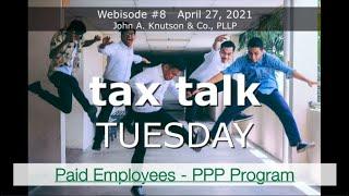 Tax Talk Tuesday: Paid Employees = Happy Employees