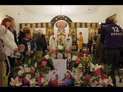 Великоднє Богослужіння в Луцькому монастирі св. Василія Великого, 2018 р. Б.