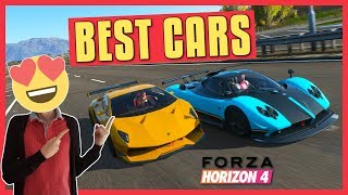 Forza Horizon 4 | BEST CARS (Allrounder, Top Speed, Handling)