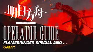 Flamebringer  - (Arknights) - #Arknights Solo Operator Guide: A Flamebringer Special feat. Gao?!
