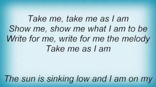 Ffh - Take Me As I Am Lyrics