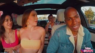 Uber Driver Raps For Girl In $250,000 Car!