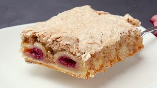 Печенье с вишней - Рецепты от Со Вкусом