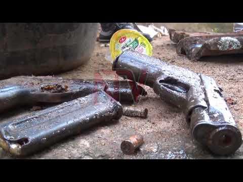 Three guns found buried in Busia