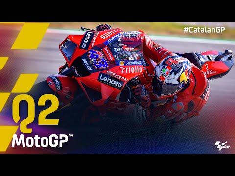 MotoGP 2021 カタルニアGP 予選Q2のラストアタック動画