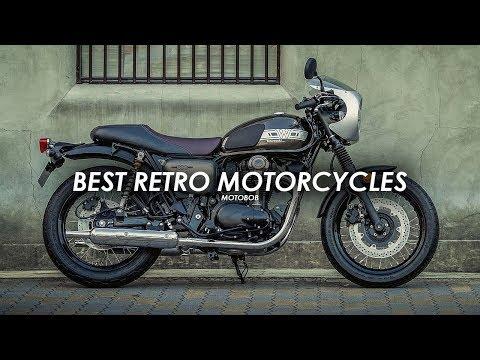 15 Best Retro Motorcycles 2019