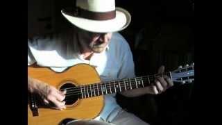 Happy Shuffle Blues   Fingerpicking Blues Instrumental