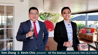 Property Video - 43 The Avenue, Sunnybank Hills, QLD 4109 - SOLD By Tom Zhang & Kevin Chiu