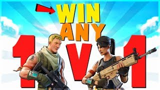 4 WAYS to *WIN* EVERY 1v1 Fight | Fortnite Battle Royale Advanced Combat and Building Tips