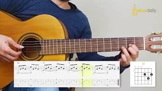 Gitar Dersi - Uzun İnce Bir Yoldayım Solosu Ve Akorları
