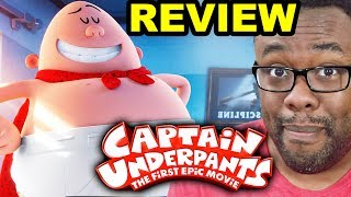 CAPTAIN UNDERPANTS MOVIE REVIEW - A Good Superhero Movie?? [Black Nerd]