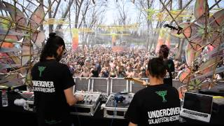 PerfecTone - Pray From Africa (UnderCover Remix) Live @Unity Trilogy Israel