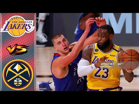 Los Angeles Lakers vs Denver Nuggets Full Highlights 2nd Qtr | Game 3 West Finals | NBA Playoffs