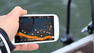 Deeper fish finder vs humminbird 797c2 123vid for Ibobber ice fishing