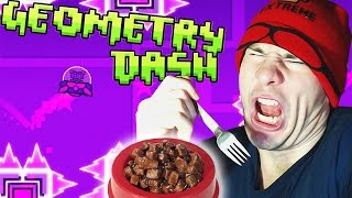 Geometry Dash ~ DOG FOOD CHALLENGE (Theory Of Everything, Electroman Adventures)