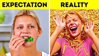 LIFE IS HARD WHEN YOU ARE ON A DIET || REAL STRUGGLES EVERY WOMAN CAN RELATE TO