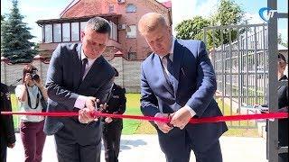 В медсанчасти новгородского управления МВД был торжественно открыт новый блок