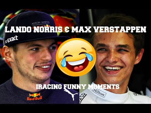 Video | Lando Norris & Max Verstappen Stream Highlights