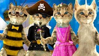 ПРИКЛЮЧЕНИЕ МАЛЕНЬКОГО КОТЕНКА - мультик для детей про котенка. Игровой мультфильм КИДА #пурумчата