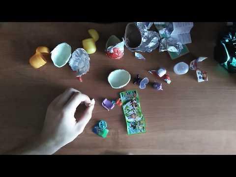 Kinder сюрприз распаковка. Kinder BEN10 и яйцо от Шоки Моки Angry Birds #1