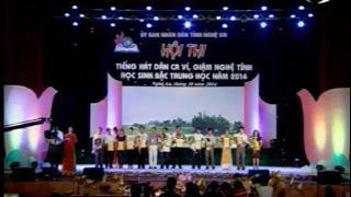Hội thi Tiếng hát dân ca, ví giặm Nghệ Tĩnh học sinh bậc trung học năm 2014