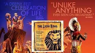 20. King of Pride Rock/Circle of Life (Reprise) | The Lion King (Original Broadway Cast Recording)