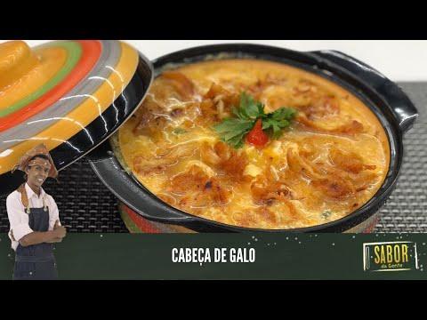 Aprenda a fazer Cabeça de Galo com o chef Rivandro França [Sabor da Gente exibido em 20/04/2021]