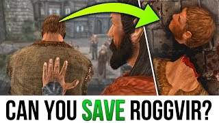 Skyrim BUT Is it possible to STOP Roggvir's Execution?  -  [Elder Scrolls Lore Secrets]