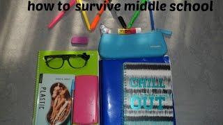 MIDDLE SCHOOL ADVICE/TIPS FOR 6TH GRADERS ♡