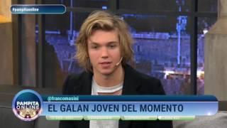 """""""Estoy enamorado de Cande Tinelli"""" Franco Masini en #PampitaOnline"""