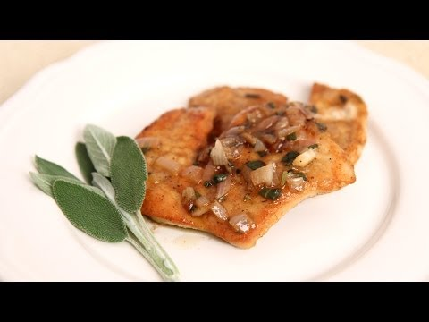 Turkey Cutlets with White Wine Gravy – Laura Vitale – Laura in the Kitchen Episode 670