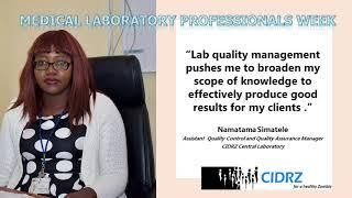 Celebrating Medical Laboratory Professionals Week -  April , 2021