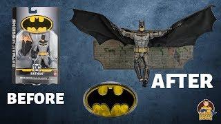 Batman Missions: Batman Figure Makeover- Chris' Custom Collectables!
