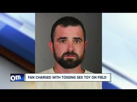 Fan arrested for throwing sex toy on Bills field