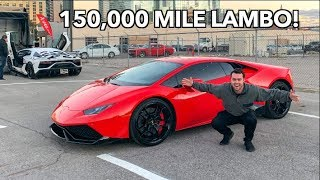 MAINTENANCE COSTS ON A 150,000 MILE LAMBORGINI - $$$